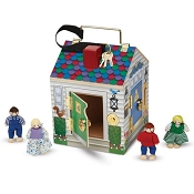 *Melissa & Doug Wooden Doorbell House