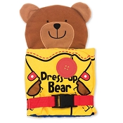 *Melissa & Doug Soft Activity Book - Dress Up Bear