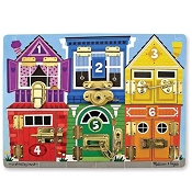 *Melissa & Doug Wooden Latches Board