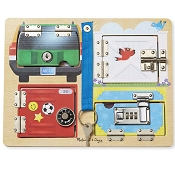 *Melissa & Doug Lock & Latch Board