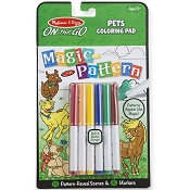 *Melissa & Doug On the Go Magic Pattern Pad - Pets