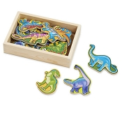*Melissa & Doug Wooden Dinosaur Magnets