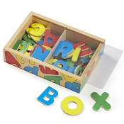 *Melissa & Doug Wooden Letter Alphabet Magnets