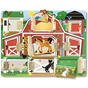 *Melissa & Doug Farm Hide & Seek Board