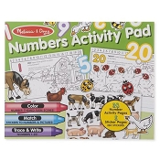 *Melissa & Doug Numbers Activity Pad