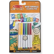 *Melissa & Doug On the Go Magic Pattern Pad - Wild Animals