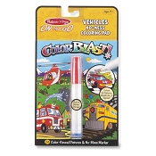 *Melissa & Doug On the Go ColorBlast No-Mess Coloring Pad - Vehicles