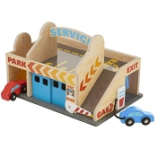 *Melissa & Doug Service Station Parking Garage
