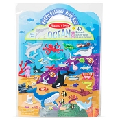 *Melissa & Doug Puffy Sticker Play Set - Ocean