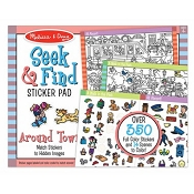 *Melissa & Doug Seek & Find Sticker Pad - Around Town
