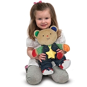 *Melissa & Doug Teddy Wear Toddler Learning Toy