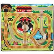 *Melissa & Doug Round the Rails Train Rug