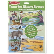 *Melissa & Doug Transfer Sticker Scenes - Jungle and Savanna