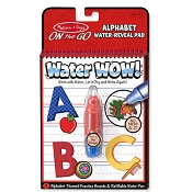 *Melissa & Doug Water Wow! Alphabet - On the Go Travel Activity