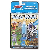 *Melissa & Doug Water Wow! Adventure Water-Reveal Pad - On the Go Travel Activity