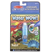 *Melissa & Doug Water Wow! Dinosaurs Water-Reveal Pad - On the Go Travel Activity
