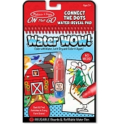 *Melissa & Doug Water Wow! Connect the Dots Farm - On the Go Travel Activity