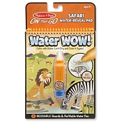 *Melissa & Doug  Water Wow! - Safari Water Reveal Pad - On the Go Travel Activity