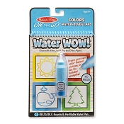*Melissa & Doug Water Wow! Colors & Shapes Water Reveal Pad - On the Go Travel Activity