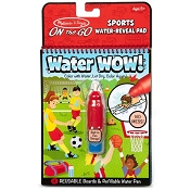 *Melissa & Doug Water Wow! Sports Water-Reveal Pad - On the Go Travel Activity