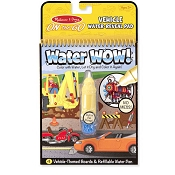 *Melissa & Doug Water Wow! Vehicles - On the Go Travel Activity