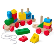 *Melissa & Doug Jumbo Wooden Stacking Train - Classic
