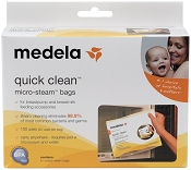 *Medela Quick Clean Micro-Steam Bags - 5 Pack