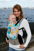 * Tula Ergonomic Baby Carrier - Message in a Bottle - Toddler Size