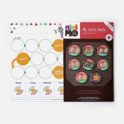 minimo My Good Deeds Magnetic Board + 8 Magnets