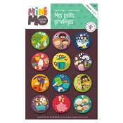 *minimo My Little Privileges Magnet Set - 12 Magnets