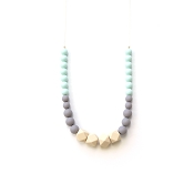 *Loulou Lollipop Geo Statement Silicone Teething Necklace