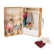 *Moulin Roty Grande Famille Little Wardrobe Suitcase