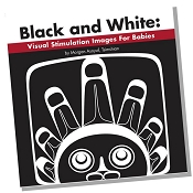 *Native Northwest Board Book - Black and White: Visual Stimulation Images for Babies