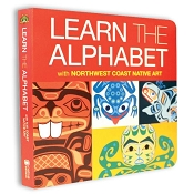 *Native Northwest Board Book - Learn the Alphabet