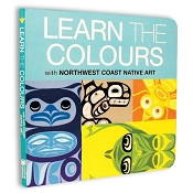 *Native Northwest Board Book - Learn the Colours