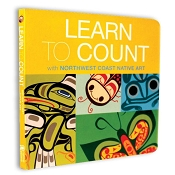 *Native Northwest Board Book - Learn to Count