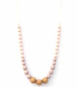 *Loulou Lollipop Naturalist Necklace- Pink Rose