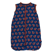 Kickee Pants Lightweight Sleeping Bag - Navy Fox