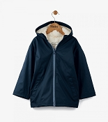 Hatley Classic Navy Sherpa Lined Splash Jacket