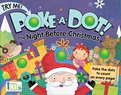 *Innovative Kids Poke-A-Dot Poppers Book - Night Before Christmas