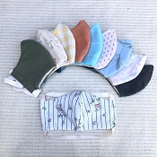 Nooks Design Upcycled Petite Face Masks *Pre-Order* - Expected ship date June 2