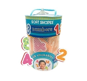 *Innovative Kids Soft Shapes Tub Stickables - Numbers
