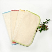 Oko Creations Organic Cotton Baby Wipes - 4 Pack