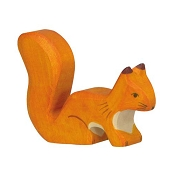 *Holztiger Standing Orange Squirrel