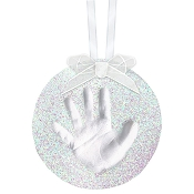 *Pearhead Babyprints Glitter Ornament