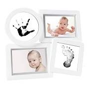 *Pearhead Babyprints Collage Photo Frame