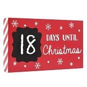 *Pearhead Countdown to Christmas Chalkboard