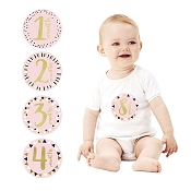 *Pearhead Gold Foil Belly Stickers
