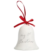 *Pearhead First Christmas Bell Ornament