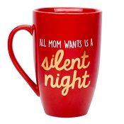 *Pearhead All Mom Wants Is a Silent Night Mug